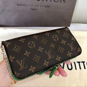 Louis Vuitton Monogram / Green Insolite Wallet